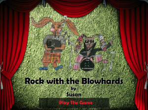 Rock with the Blowhards - Play game
