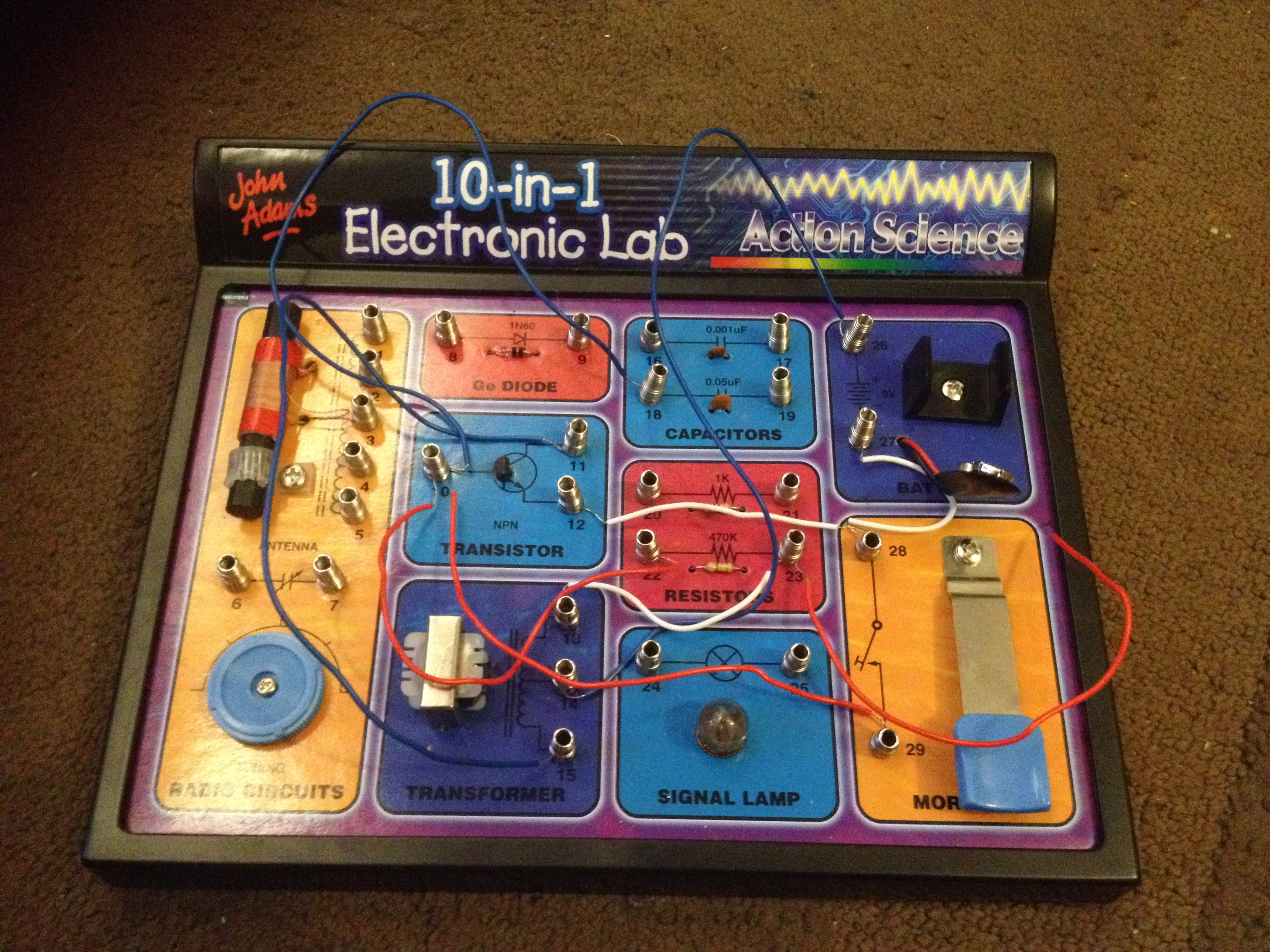 Music Technology Garry Hall Methods For Automotive Electronics Circuits Electronicslab 10 In 1 Lab
